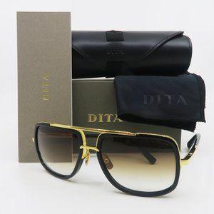 Dita MACH ONE DRX-2030B Titanium Shiny Black/Gold